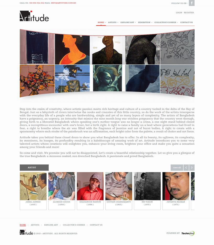Artitude Artwork Gallery