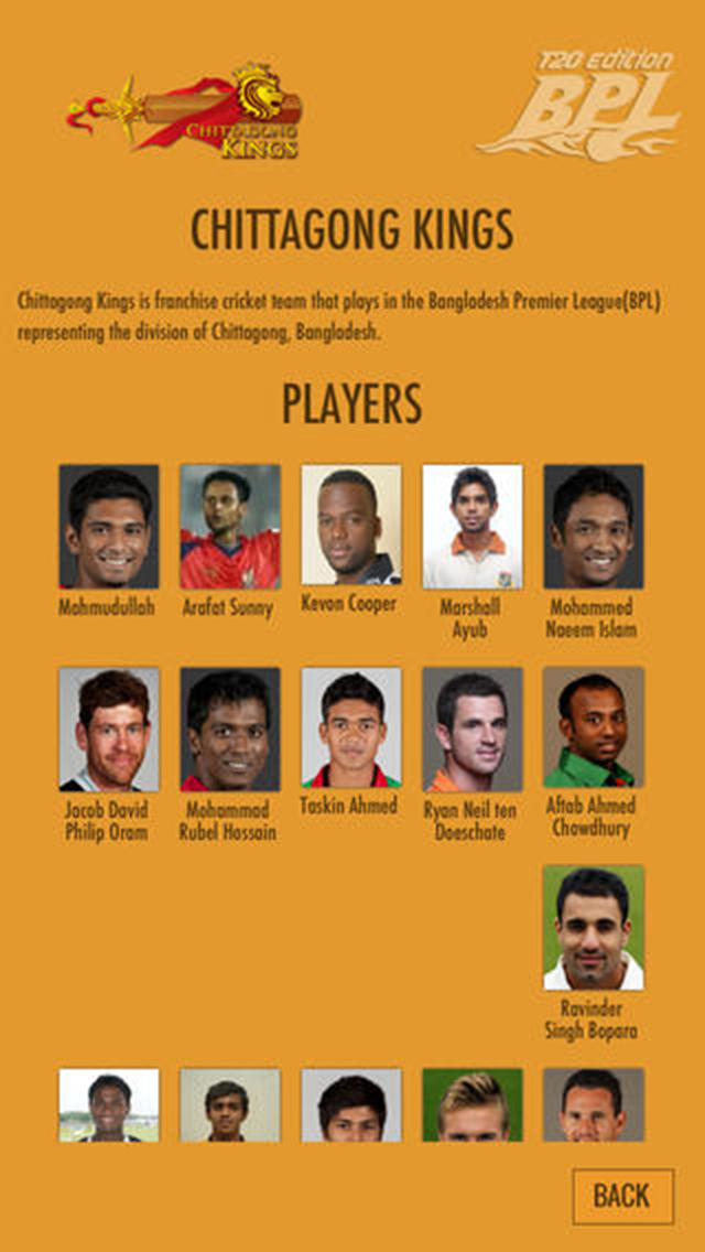 T20 Cricket - BPL edition